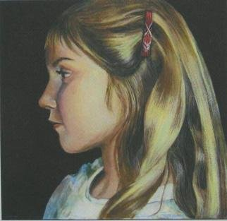 Luisa Cleaves Luisa F. V. Cleaves Gallery, Portrait of Mara, 2003, Original Painting Oil,    inches