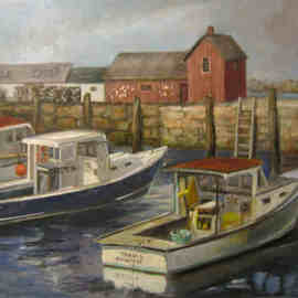 Luisa Cleaves Luisa F. V. Cleaves Gallery, , , Original Painting Oil, size_width{Rockport-1163513954.jpg} X 20 inches