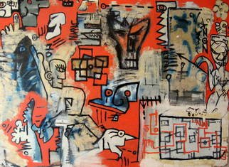 Melac Revolg; See What I Mean, 2000, Original Painting Other, 105 x 85 inches. Artwork description: 241