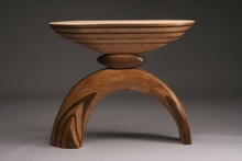 Artist: Robert Hargrave's, title: Arch Table, 2007, Sculpture Wood
