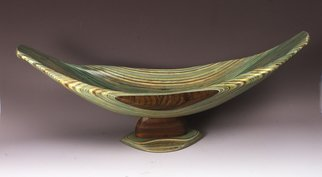 Robert Hargrave; Most Favored Vessel, 2015, Original Sculpture Wood, 34 x 12 inches. Artwork description: 241  Vessel   ...
