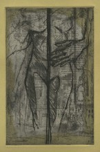 Artist: Rachel E Heberling's, title: The Divide, 2013, Printmaking Intaglio