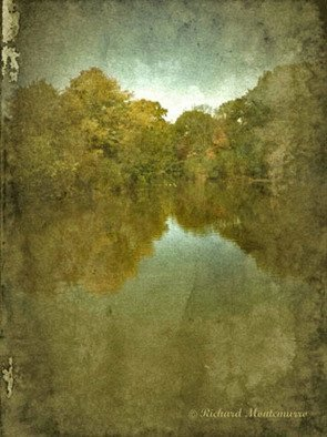Richard Montemurro; AUTUM LAKE, 2011, Original Digital Art, 15 x 20 inches. Artwork description: 241                            digital art, abstract art. art, computer art, photographs, photo manipulation, manipulations, nature, scenic, landscape                           ...