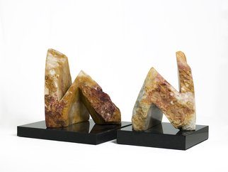 Robin Antar; conversations 1, 2009, Original Sculpture Stone, 20 x 12 inches. Artwork description: 241 conversations, figures, 2 figures, stone, art, abstract...