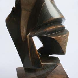 Robin Antar, , , Original Sculpture Stone, size_width{moving_on-1494531818.jpg} X 18 inches