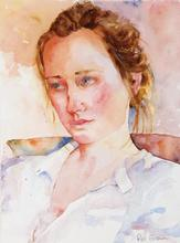 Artist: Roderick Brown's, title: Sarah, 2013, Watercolor