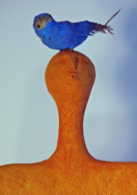 Ron Allen; Songcatcher  Detail, 2009, Original Sculpture Mixed,  36 inches.