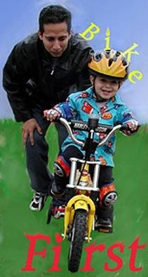 Rosalinda Alejos; CC Ride, 2004, Original Photography Other, 4 x 8 inches. Artwork description: 241 One always remembers their very first bike.  This little guy got a Harley.  Time with him is sheer Magic....