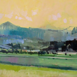 Jerry Ross, , , Original Painting Oil, size_width{Coburg_Hills-1487735985.jpg} X 36 inches