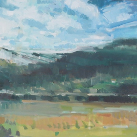 Jerry Ross, , , Original Painting Oil, size_width{Coburg_Hills_Veduta-1457459875.jpg} X 24 inches