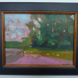Jerry Ross, , , Original Painting Oil, size_width{Color_Macchia_of_Trees-1487735946.jpg} X 9 inches