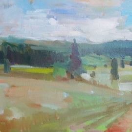 Jerry Ross, , , Original Painting Oil, size_width{Near_Goshen-1487735546.jpg} X 16 inches