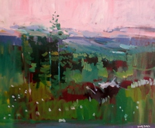 Artist: Jerry Ross', title: Oregon Forest Veduta, 2015, Painting Oil