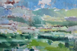 Jerry Ross, TorreOrsina, 2015, Original Painting Oil, size_width{TorreOrsina-1477077089.jpg} X 36 x  inches