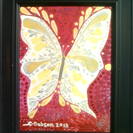 Cathy Dobson, , , Original Painting Oil, size_width{Magic_Butterfly-1432916574.jpg} X 12 inches