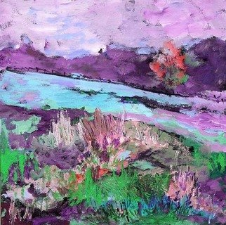 Roz Zinns, 'After The Storm', 2009, original Painting Acrylic, 12 x 12  x 2 inches.