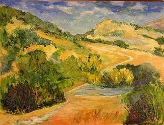 Roz Zinns, 'Borges Ranch 2', 2005, original Painting Acrylic, 24 x 18  x 1 inches. Artwork description: 2307 Wonderful California colors...