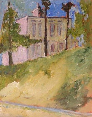 Roz Zinns, 'House On A Hill', 2007, original Painting Acrylic, 11 x 14  x 1 inches. Artwork description: 2307  A lovely soft interpretation of the historic John Muir House in Martinez, CA ...