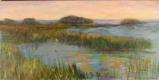 Roz Zinns, 'Tranquil Waters', 2005, original Painting Acrylic, 36 x 18  x 1 inches. Artwork description: 3495 The Delta region near Antioch, CA...
