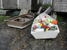 Artist: Ruth Zachary's, title: Fishermans Jumble, 2012, Photography Color