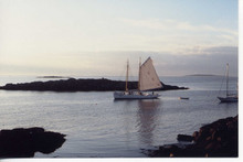 Artist: Ruth Zachary's, title: Sailing By, 2012, Photography Color