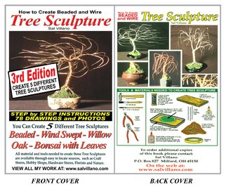 Sal Villano;  How To Create Beaded and..., 2009, Original Book, 6 x 9 inches. Artwork description: 241  How To Create Beaded & Wire Tree Sculpture - Printed Book, by Sal VillanoThis book offers complete, fully illustrated, step by step instructions showing how to create wire and beaded tree sculptures. Written and illustrated by Sal Villano, this 76 page ( 6