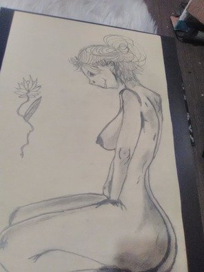 Samantha Faucher; Grace, 2019, Original Drawing Other, 1.6 x 2.3 feet. Artwork description: 241 beautiful freehand of the female body. ...