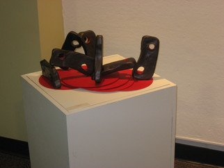 Sarah Varacallo; Up And Down, 2006, Original Sculpture Mixed, 23 x 10 inches.