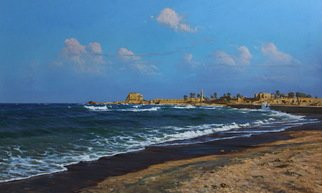 Sar Gallery; Caesarea Israel Area Of T..., 2013, Original Painting Oil, 140 x 80 cm. Artwork description: 241 Artist - Artyom Puchkov...