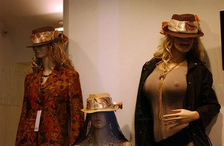 Susan Brannon; Mannequins, 2012, Original Photography Color, 11 x 14 inches. Artwork description: 241   Lucca, Italy, mannequins, women, fashion, window, tops, hats, sunglasses, abstract, documentary, culture,  photography, susan brannon    ...