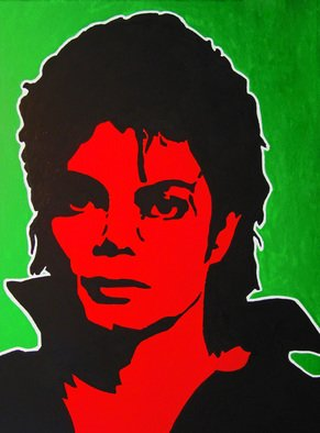 David Mihaly; Man In The Mirror, 2009, Original Painting Acrylic, 18 x 24 inches. Artwork description: 241  Michael Jackson Man in the Mirror ...
