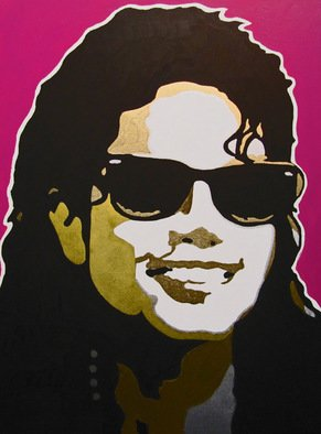 David Mihaly; The Way You Make Me Feel, 2009, Original Painting Acrylic, 18 x 24 inches. Artwork description: 241 Michael Jackson The Way You Make Me Feel ...