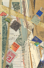 Artist: Robert H. Stockton's, title: Drift, 2006, Collage
