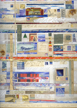 Artist: Robert H. Stockton's, title: Small Hazards From The Real..., 2007, Mixed Media
