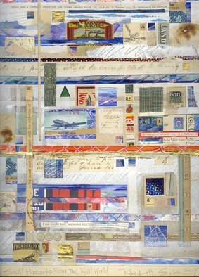 Robert H. Stockton, Small Hazards From The Real..., 2007, Original Mixed Media, size_width{Small_Hazards_From_The_Real_World-1426614190.jpg} X 16 x  inches
