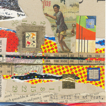 Artist: Robert H. Stockton's, title: The Pursuit of Happiness, 2006, Collage