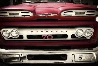 Stef Dorin; CHEVROLET 70, 2010, Original Photography Color, 30 x 20 inches. Artwork description: 241  Selling limited edition photographs- each print is signed and numbered verso and delivered unframed and unmated. I ship all prints, ( along with a certificate of authenticity) , rolled, in a heavy duty shipping tube fully insured. If you like to see more of my work please visit