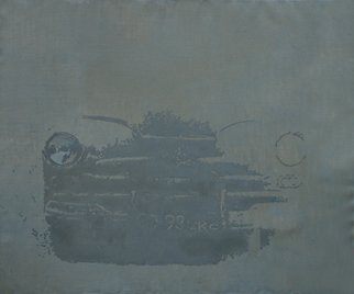Serge Rull; Car, 2002, Original Painting Oil, 120 x 100 cm. Artwork description: 241    Painting Oil, Car  ...