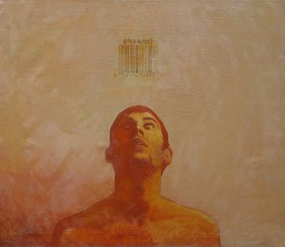 Serge Rull; Gold, 2001, Original Painting Oil, 120 x 100 cm. Artwork description: 241   Painting Oil, Gold ...