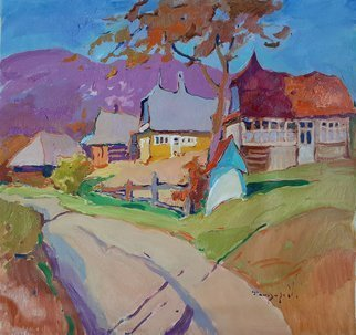 Alexander Shandor; Autumn In The Village, 2019, Original Painting Oil, 70 x 75 cm. Artwork description: 241 Shandor AlexanderUkraineSize: 75 W x 70 H x 2 cmUnfortunately I do not know how to write in English. Unable to describe my every work.If something interests you, then ask through the team of professional site curators. I will try to answer all ...