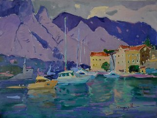 Alexander Shandor; Bay Of Kotor, 2019, Original Painting Oil, 80 x 60 cm. Artwork description: 241 Kotor BayOil painting on canvas in 2019 in Kotor, Montenegro.Signed by the artist at the frontSigned Certificate of AuthenticityAll questions regarding the price write to the message.Sincerely, Alexander, ...