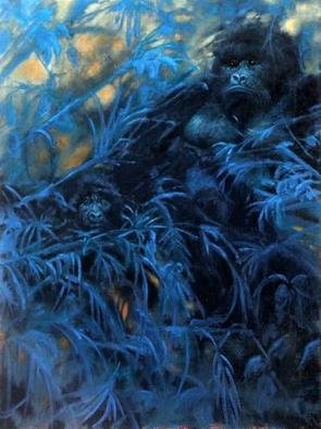 Shanee Uberman; I CAN SEE YOU, 2011, Original Painting Oil, 30 x 40 inches. Artwork description: 241  THESE AMAZING CREATURES ...