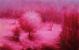 Shanee Uberman; MAGENTA DAZE, 2013, Original Painting Oil, 14 x 9 inches. Artwork description: 241  Thru rose color glasses you ask. . . perhaps i do sometimes. we all need to saturate the world with a little extra colors at times       ...