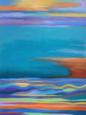 Shanee Uberman; OCEAN DREAM, 2013, Original Painting Oil, 30 x 40 inches. Artwork description: 241  abstract seascape dream. . .      ...