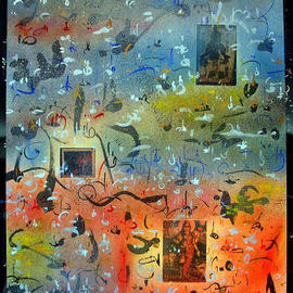 Richard Lazzara, , , Original Mixed Media, size_width{ASPECTS_SIVA_LINGAM-1045589226.jpg} X 24 inches