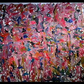 Richard Lazzara, , , Original Painting Oil, size_width{CAVE_SHAMAN-1048794405.jpg} X 60 inches