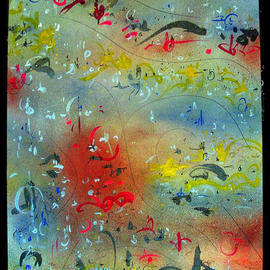 Richard Lazzara, , , Original Mixed Media, size_width{FLOOD_OF_MEMORIES-1045591297.jpg} X 24 inches