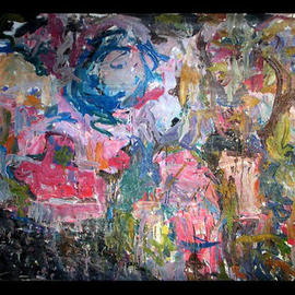 Richard Lazzara, , , Original Painting Oil, size_width{GEOLOGICAL_MARKERS-1048795611.jpg} X 48 inches