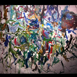 Richard Lazzara, , , Original Painting Oil, size_width{KNOT_ALGORITHM-1048627573.jpg} X 58 inches