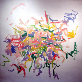 Richard Lazzara, , , Original Painting Oil, size_width{KNOT_IMAGINATION-1048627874.jpg} X 54 inches